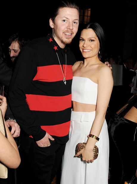 Jessie J And Professor Green at a BRITs 2013 after party
