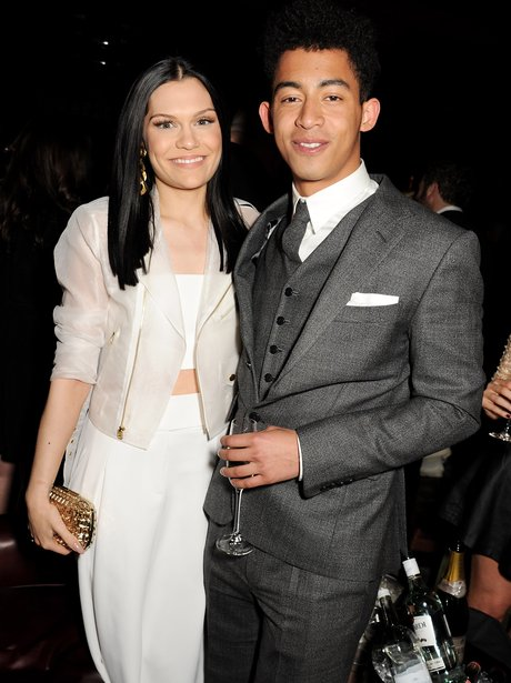 Jessie J and Rizzle Kicks at a BRITs 2013 after party