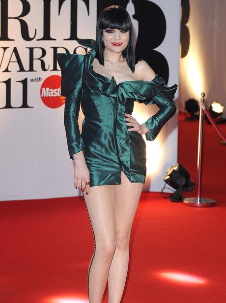 Jessie J BRIT Awards 2011
