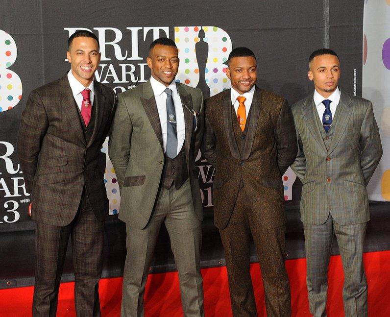 JLS  Brit Awards 2013 Red Carpet
