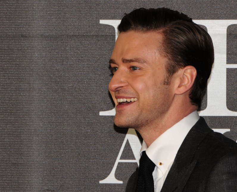 Justin Timberlake at the BRIT Awards 2013