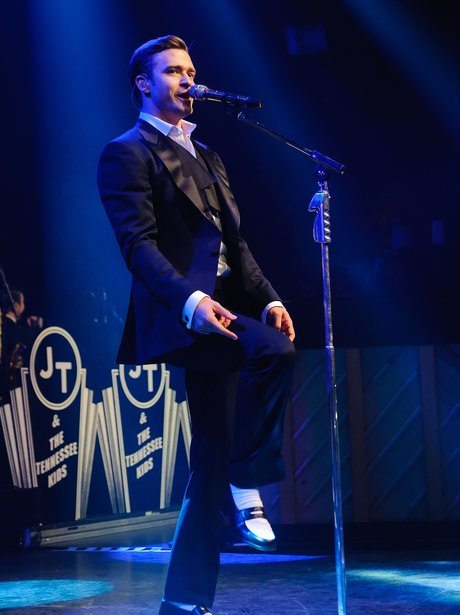 Justin Timberlake performs at the Forum in London
