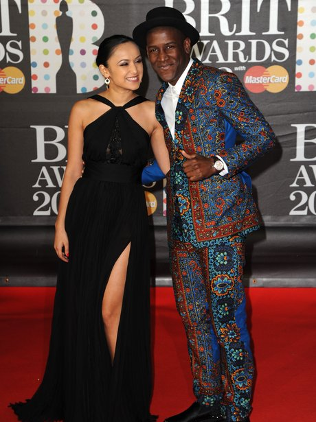Labrinth at the BRIT Awards 2013