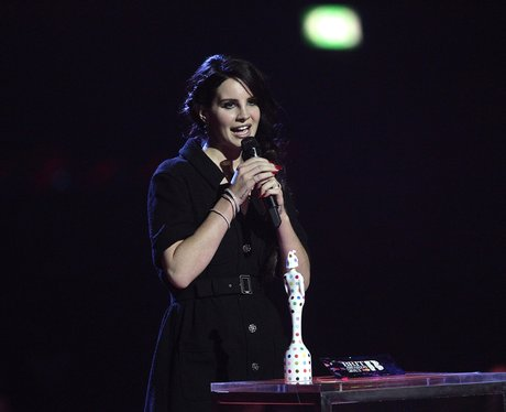 lana Del Rey BRIT Awards 2013 On Stage