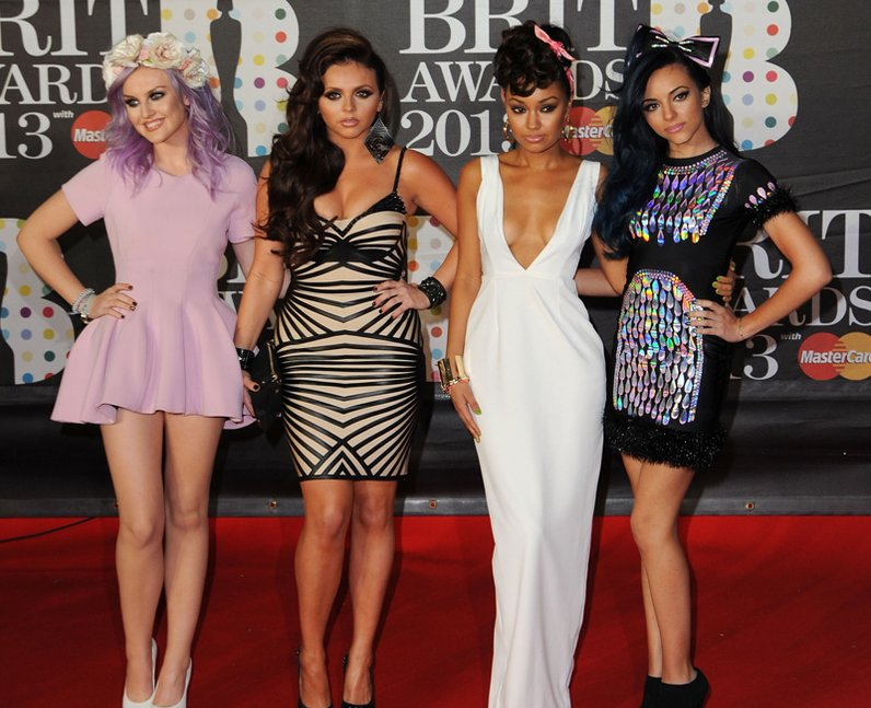 Little Mix BRIT Awards 2013 Red Carpet