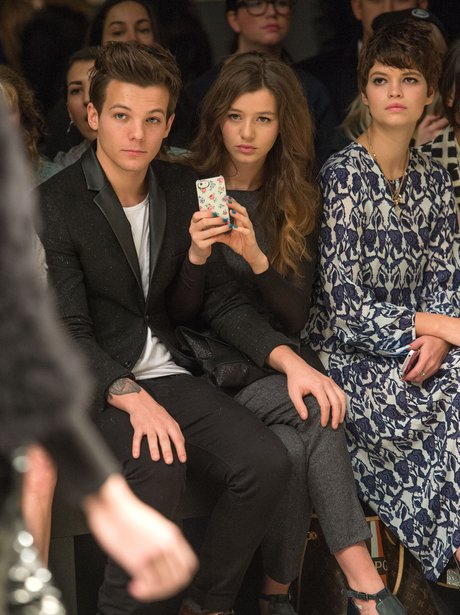 Louis Tomlinson and Eleanor Calder 2013 with Pixie Geldof