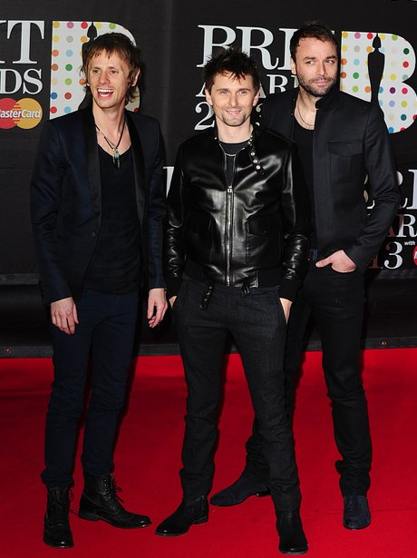 Muse BRIT Awards 2013 Red Carpet