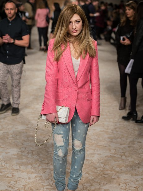 Nicola Roberts attends the House of Holland show