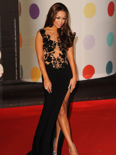 Rebecca Ferguson at the BRIT Awards 2013