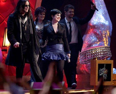 Sharon Osbournce hosts 2008 Brit Awards