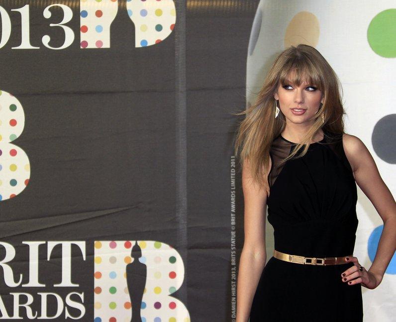Taylor Swift BRITS 2013