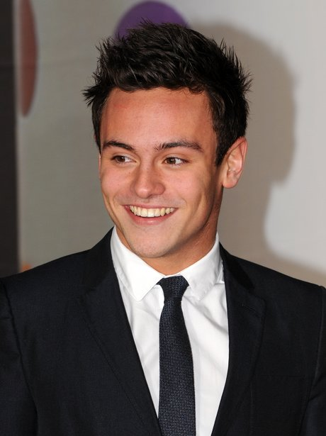 Tom Daley at the BRIT Awards 2013