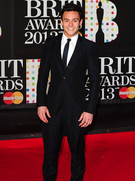Tom Dalet at the BRIT Awards 2013