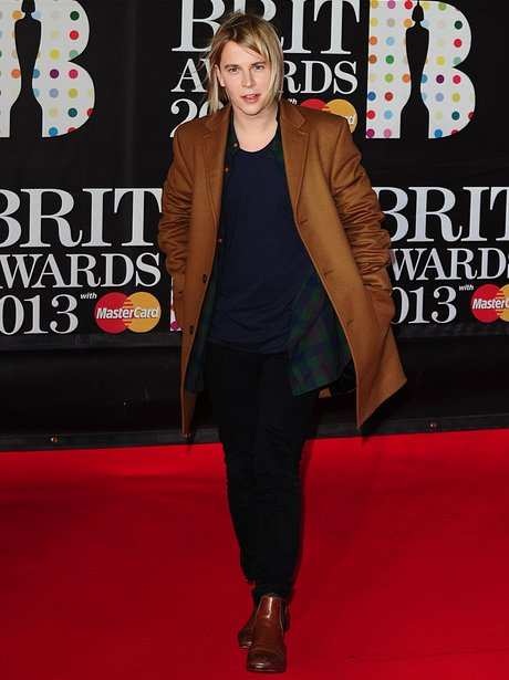 Tom Odell at the BRIT Awards 2013