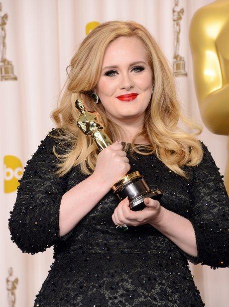 Adele at the Oscars 2013