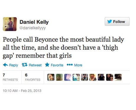 Beyonce Tweet