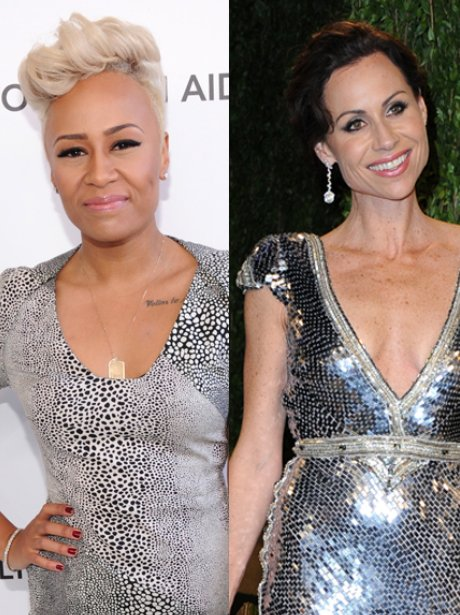 Emeli Sande and Minnie Driver