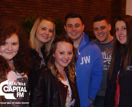 Example fans in Cardiff