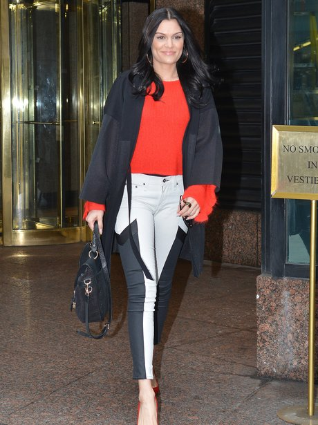 Jessie j in New York recording new music