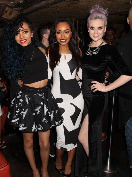Little Mix attend their aftershow party at Mahiki