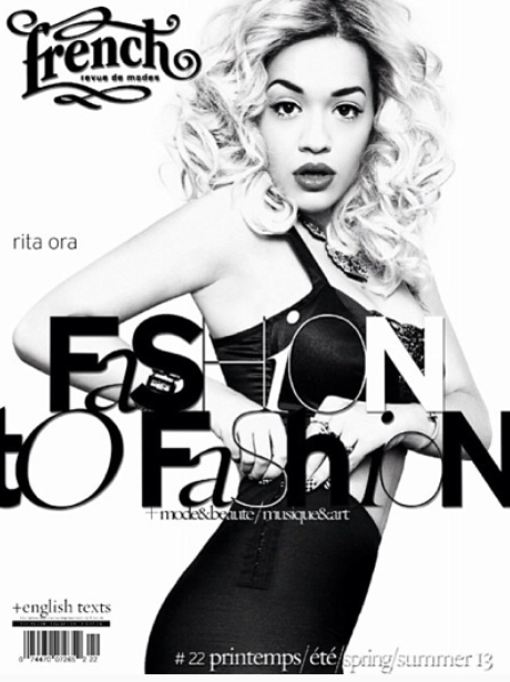 Rita Ora French Revue Magaizne 2013