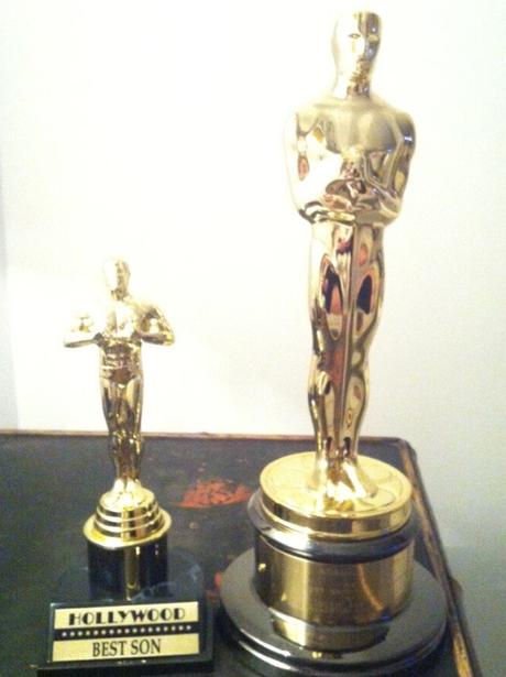 Adele's Oscar award for son