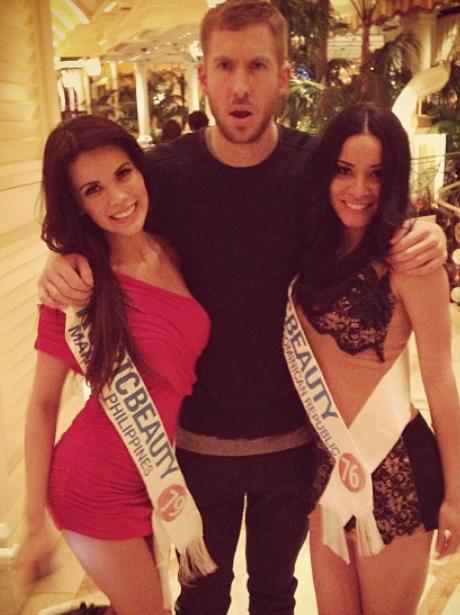 Calvin Harris in Las Vegas