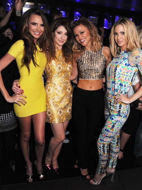 Girls Aloud at their tour after party