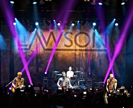 Lawson perform on their 'Chapman Square' tour