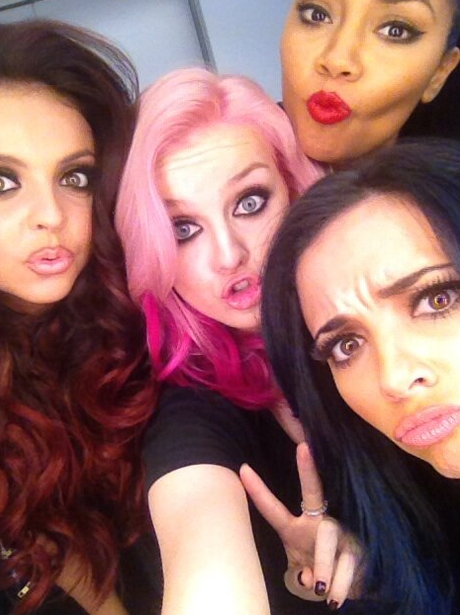 Little Mix show off their new hair