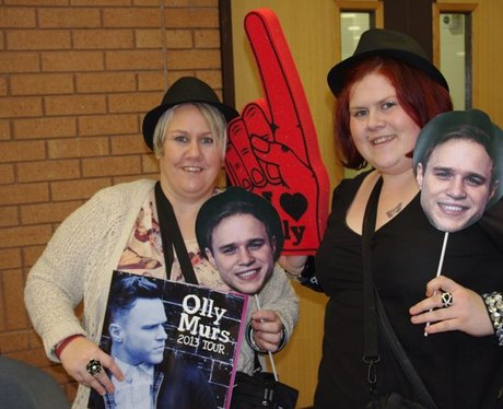 Olly Murs At The BIC
