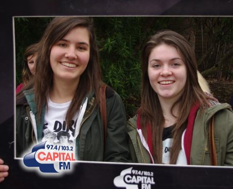 1D fans in Cardiff