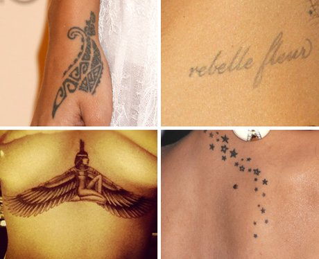 Rihanna's Tattoo Collection
