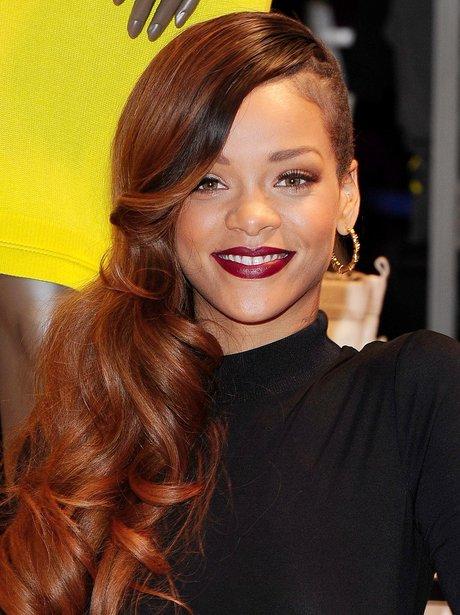 Rihanna promotes fashion line for River Island