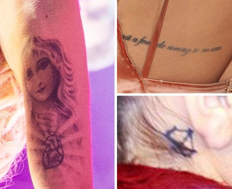 Rita Ora's Tattoo Collection