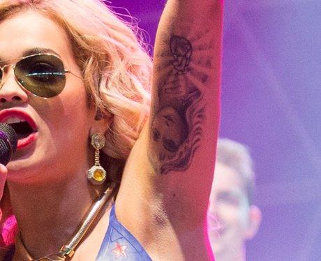 Rita Ora Tattoo