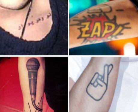 Zayn Malik's Tattoo Collection