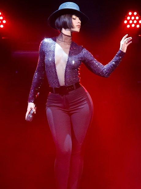 Alicia Keys performs on her tour