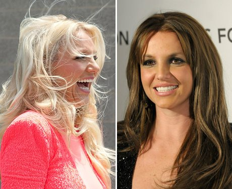 bad hair day:Britney Spears