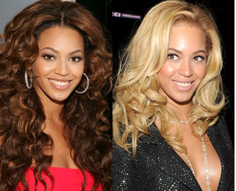 Rihanna Blonde or Brunette