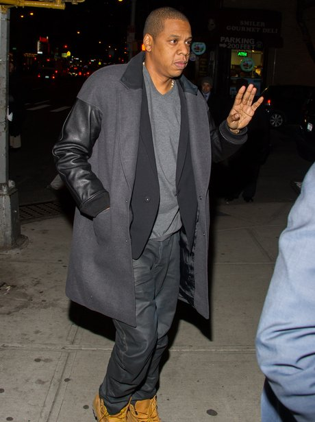 Jay-Z at Timberlands Birthday celebration