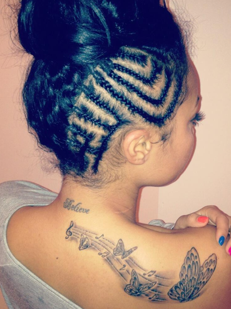 Leigh-Anne from Little Mix shows off a new tattoo
