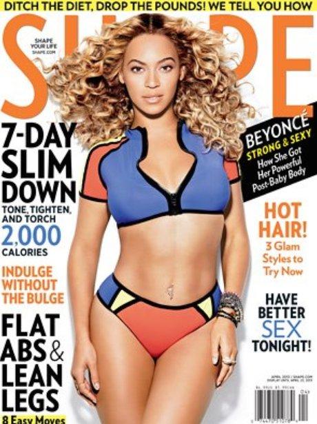 Beyonce SHAPE Magazine March 2013