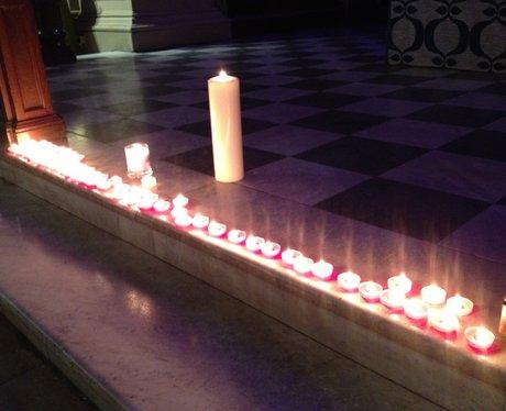 Candle-lit Vigil at Birmingham Cathedral