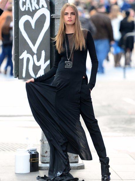 Cara Delevingne in New York
