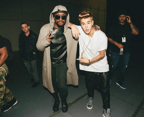 Justin Bieber and Will.i.am