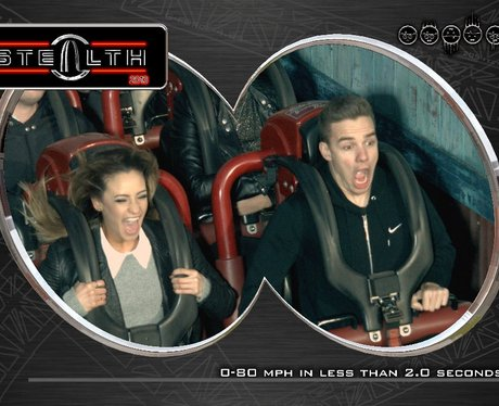 Liam Payne At Thorpe Park