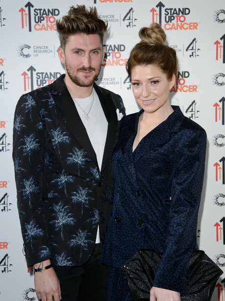 Nicola Roberts and Henry Holland