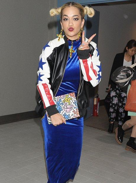 Rita Ora in Tokyo