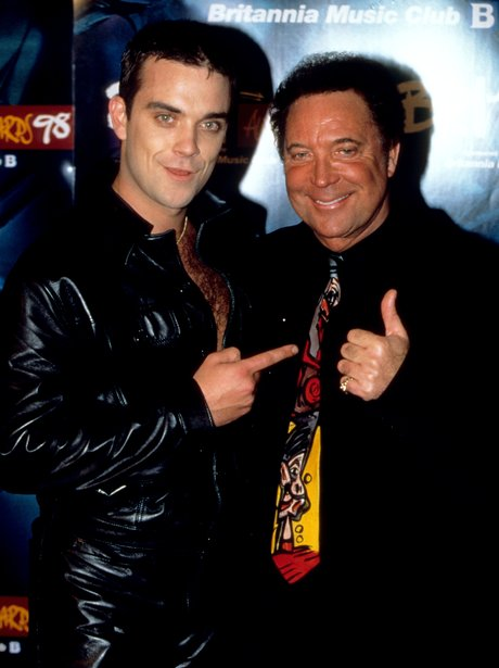 Robbie Williams and Tom Jones BRTS 1998